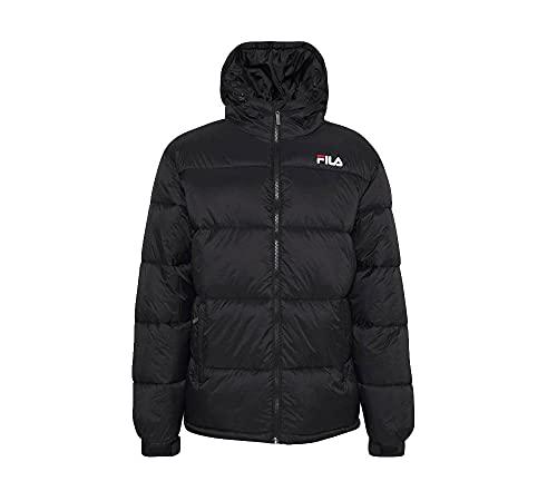 Fila Men Scooter Puffer Jacket Chaqueta acolchada, Black, M para Hombre