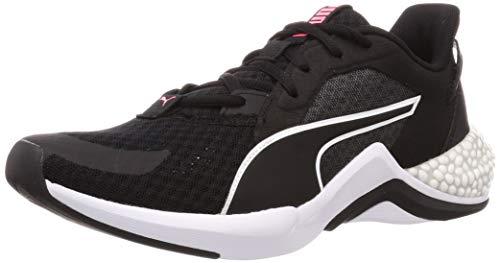 PUMA Hybrid NX Ozone WN'S, Zapatillas de Running Mujer, Negro Black White, 36 EU