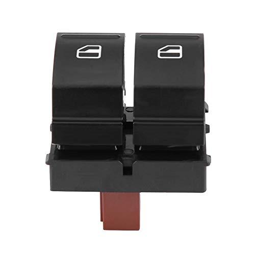 Interruptor de elevalunas eléctrico - Interruptor de botón de elevalunas eléctrico de control for Skoda Octavia Fabia 2 Roomster 1Z0959858