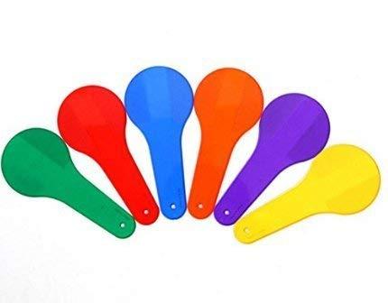 Paquete De 6 Bebé Aprendizaje Temprano Montessori Pintura Educativa Coincidencia Cognición De Color De Plástico Beat Niños Niños Juguetes De Entrenamiento