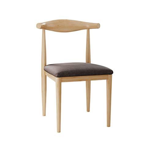 TXXM Silla de escritorio simple para estudiantes y silla de maquillaje, taburete para ordenador de vuelta a casa silla de comedor (color: B)