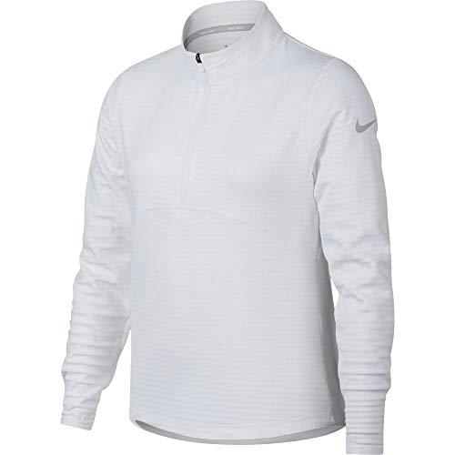 Nike Mädchen G Nk Dry Ls Sportjacke, Weiß (Blanco 100), Einheitsgröße (Herstellergröße:M)