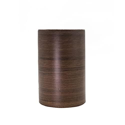 木目調 マスキングテープ 幅広 幅10cm×10m 木目調カッティングシート 壁紙 インテリア 壁紙用 シール ウッド パネリング はがせる リメイクシート アクセントクロス ウォールステッカー DIY 壁紙 シール(ブラウン)