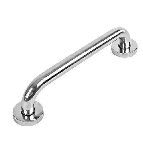 Anti-Slip Bar, 16inch (15.75inch) Bathroom Safety Grab Bar Handgrip Grab Wall Mounted Bar Rail Shower Grab Bar Safety Support Rail Straight Handrails for Shower Handle for Bathtub