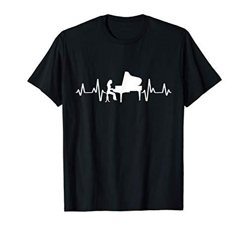 Klavierlehrerin Pianoforte Grand Piano Quintenzirkel T-Shirt