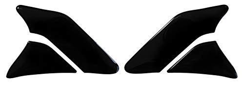 BIKE-label 800140-VA Coussin de protection de peinture pour moto Noir