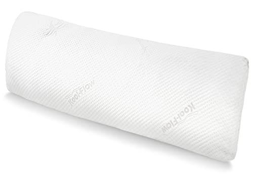 Snuggle-Pedic Full Body Pillow w/ Shredded Memory Foam, Cooling Bamboo...