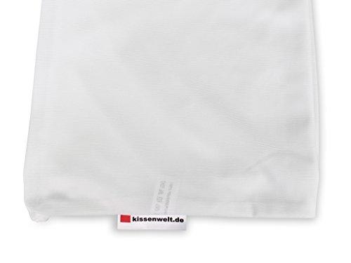 Kissenbezug 30x180 cm FLEXI, elastische Seitenschläferkissen, Stillkissen-Hülle mit Reißverschluss