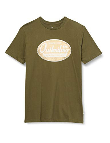 Quiksilver™ What We Do Best - T-Shirt - Homme - M - Vert