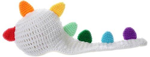 Y-BOA – Déguisement Bébé Costume - Blanc Coloré - Dragon- Animal - Bonnet Crochet– 'Anne Geddes'Photographie