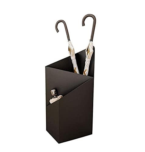ZJDM Paragüero de Estilo Europeo Paraguas de Hotel de Estilo Europeo Paragüero de pie Paraguas Creativo Barril Personalidad Paraguas Almacenamiento Bolsillo 25 * 20 * 60 cm