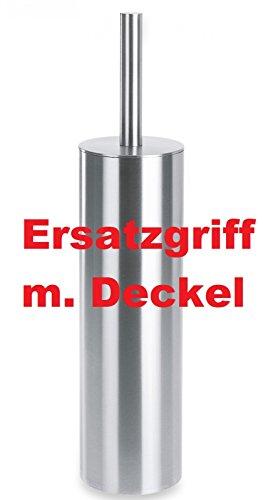 ZACK Ersatzgriff m. Deckel für Edelstahl Toilettenbürste TUBO WC-Bürste 940284G