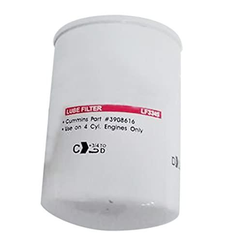 Weelparz Nuevo Filtro de Aceite 3903224 3908616 Compatible con Los Grupos Electrógenos Cummins