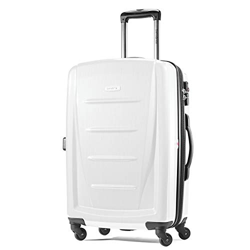 Samsonite Winfield 2 Expandable Hardside Checked Luggage with Spinner Wheels, Brushed White