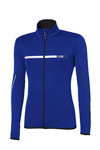 Zero RH+ Saslong Vêtement Man Snow Jersey pour Homme, Cobalt Bleu/Black/White, XXL