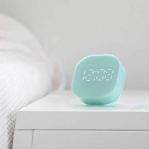 LUCYYY Reloj Despertador Cama muda enchufable Reloj Despertador Infantil Multiusos por Primera Vez