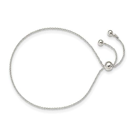 925 Sterling Silver Adjustable Bracelet 9.25 Inch Stretch Wrap Fine Jewelry For Women Gifts For Her