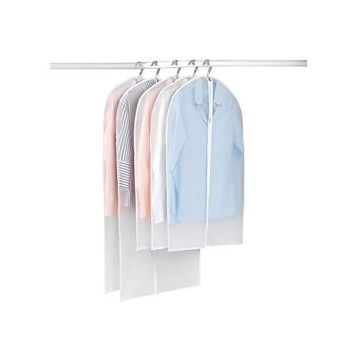 Bolsos de vacío para guardar la ropa cubierta de la ropa para la ropa del protector Armario bolsa de almacenamiento de tela que cuelgan capa de la ropa a prueba de polvo, 60x90cm