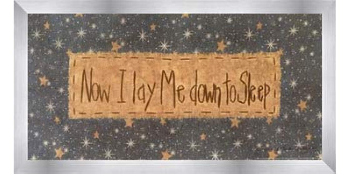 再発するインスタンス叫ぶNow I Lay Me Down to Sleep by Vicki Huffman?–?16?x 8インチ?–?アートプリントポスター LE_479949-F9935-16x8