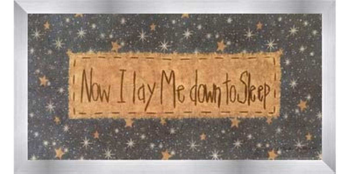 散逸メロドラマ創造Now I Lay Me Down to Sleep by Vicki Huffman?–?16?x 8インチ?–?アートプリントポスター LE_479949-F9935-16x8