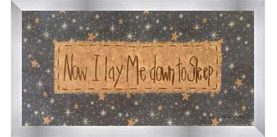 イライラするリムナチュラルNow I Lay Me Down to Sleep by Vicki Huffman?–?16?x 8インチ?–?アートプリントポスター LE_479949-F9935-16x8
