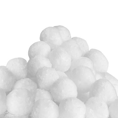 Monzana Boules filtrantes Piscine pour système de Filtration à Sable 700g Lavable Propre Balle filtrante Recyclable Piscine Pompe Filtre à Sable