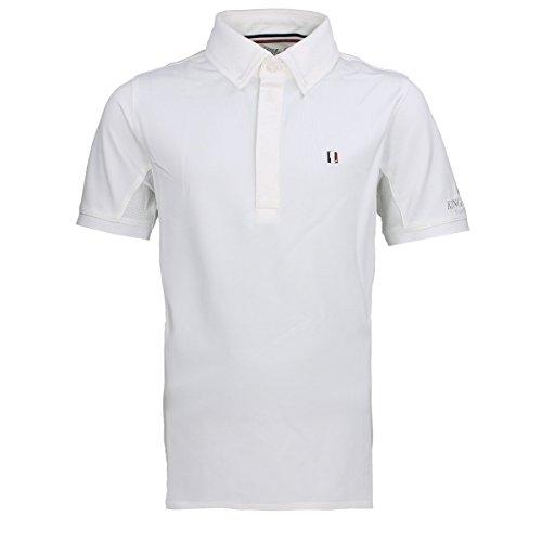 Turniershirt Jungen Classic Größe: 122/128 Farbe: weiß