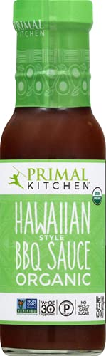 Amazon Com Primal Kitchen Organic Hawaiian Style Bbq Sauce 8 5 Oz Grocery Gourmet Food