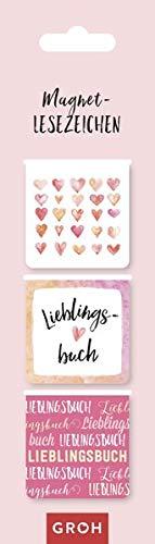Magnetlesezeichen Lieblingsbuch: magnetisches Lesezeichen