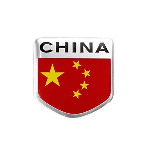 Vosarea China Flagge Auto Aufkleber Stern Auto Aufkleber dekorative patriotische Aufkleber für Auto Fahrzeug