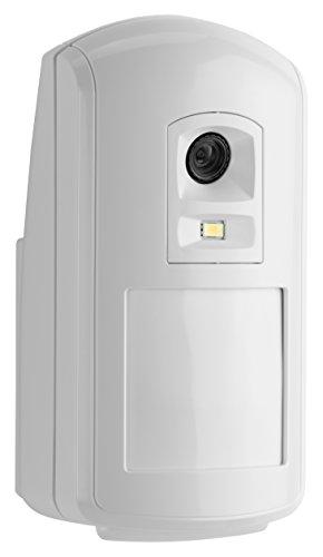 Honeywell Camir-8Ezs Evohome Security - Detector de Movimiento inalámbrico con cámara de fotografías a Color y Sensor térmico (Accesorios Disponibles), Blanco, Camir-8Ezs
