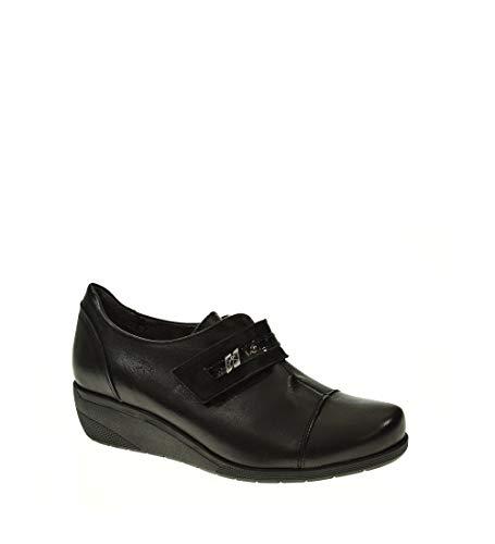 Zapato CUÑA - Mujer - Negro - fluchos - F0593-41