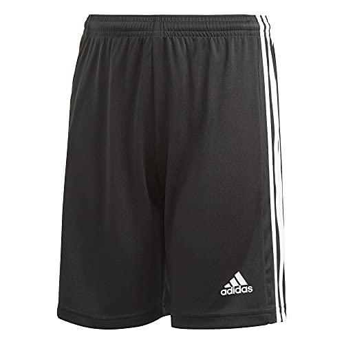 adidas Boys' Squadra 21 Shorts, Black/White, Medium