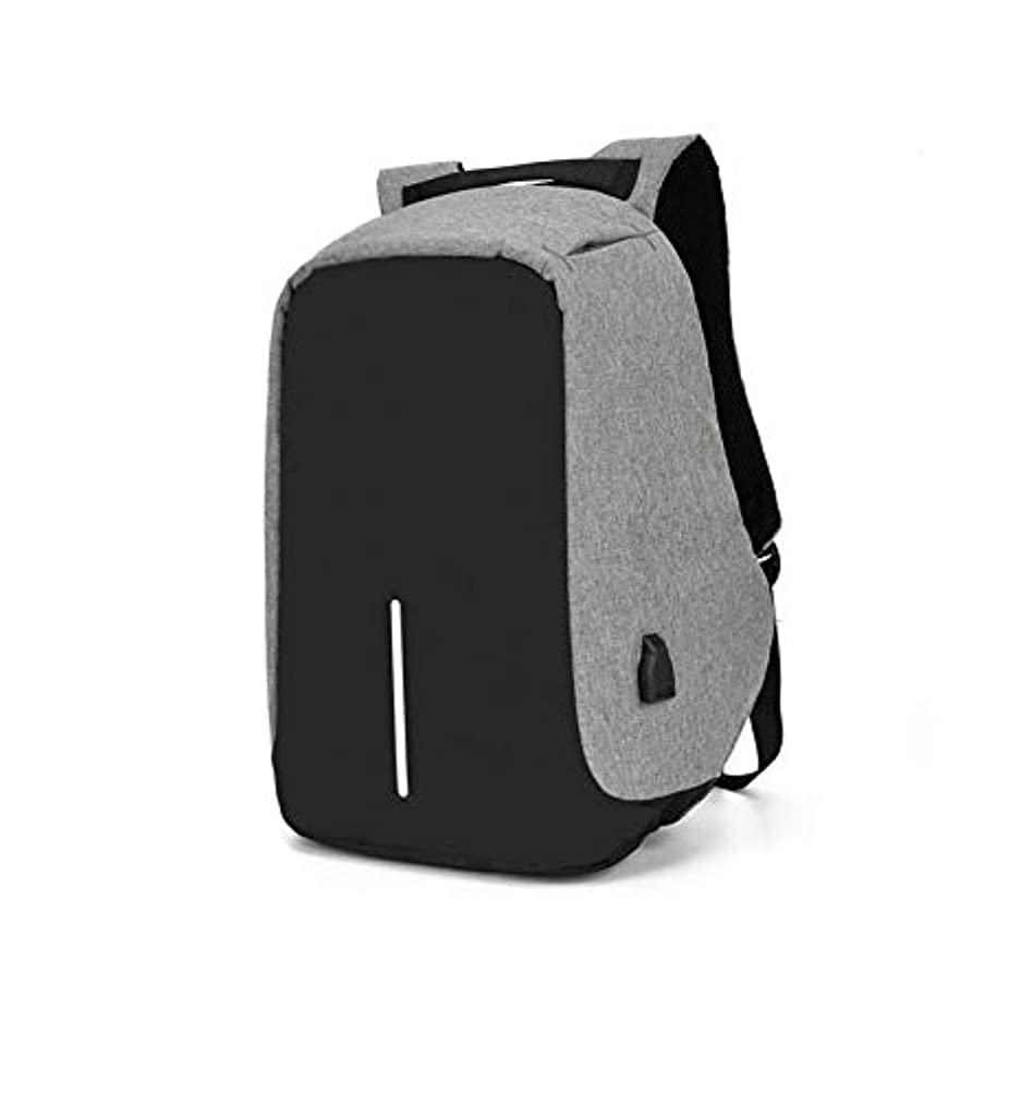 Asdsda Backpack 14 Inch Oxford Cloth Waterproof and Wear-Resistant Tear-Proof External USB Interface Large Capacity Outdoor Backpack, Casual Bag, Computer Bag, School Bag