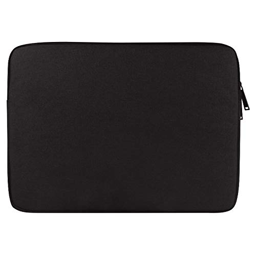 WXX Universal Wearable Oxford Cloth Soft Business Inner Package Laptop Tablet Bag, For 15.6 inch and Below Macbook, Samsung, Lenovo, Sony, DELL Alienware, CHUWI, ASUS, HP (Black) (Color : Black)