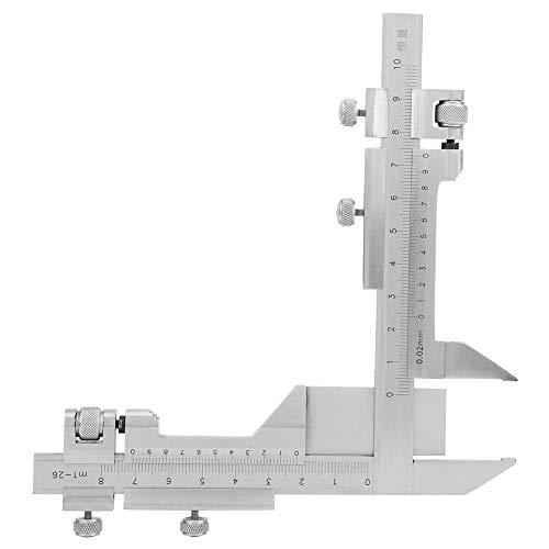 M1-26 Edelstahl Höhenmessschieber Zahnrad Messschieber Höhenschieber Markierungslineal Dickenmessgeräte Genauigkeit 0,0012 Zoll/0,03 mm