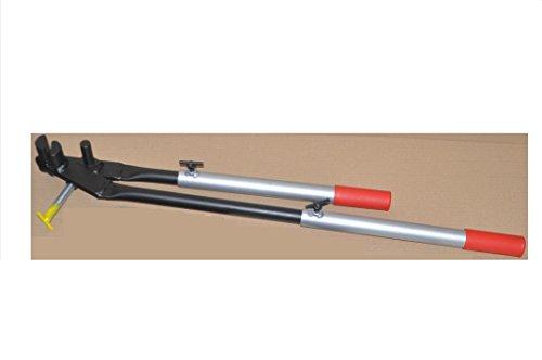 Rinneisenbiegezange, Rinneisenbieger, Dach, 650mm - 1000 mm verstellbar, biegen über 90°