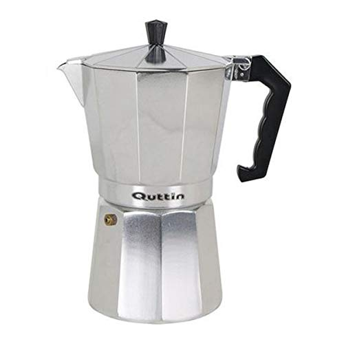 Quttin S2202078 Cafetera, 18/8 Stainless Steel