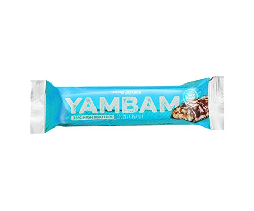 Body Attack YAMBAM Protein Bar 5 x 80g Coconut Peanut