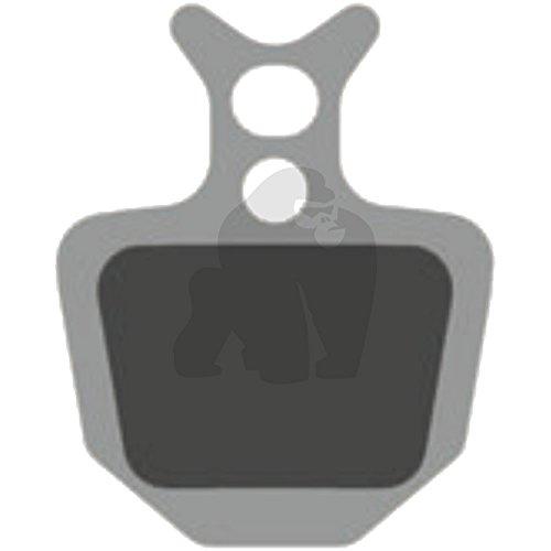 Gorilla Brakes Formula Oro - Pastillas de Freno semimetálicas (4 Unidades)