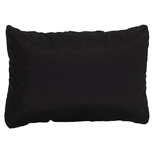 Beo Rückenkissen Sofa 60x40 cm | Made in EU Lounge Kissen wasserabweisend Anthrazit | Couchkissen groß | Polster Outdoor für Rattan Lounge | Palettenkissen Rückenkissen passgenau für Europaletten
