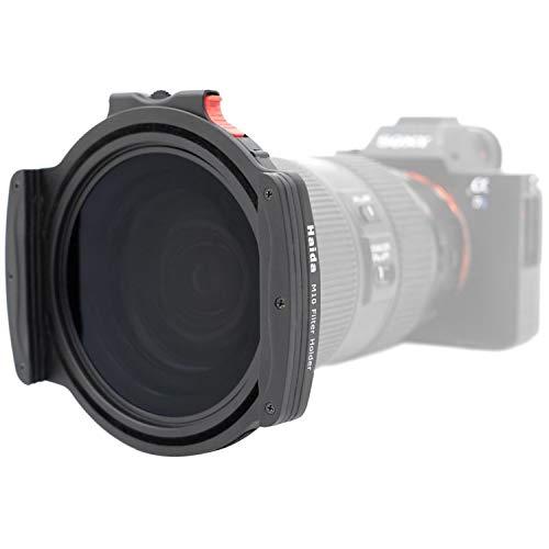 Haida M10 Pro Filterhalter, 100 mm, mit rundem Polfilter und Vier Adapterringen