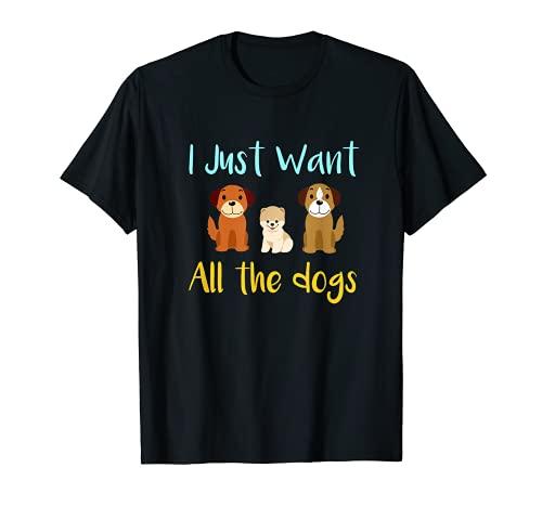 Willst du alle Hunde Rettungshund T-Shirt