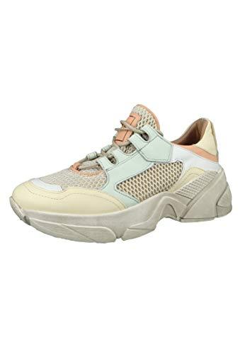 Mjus Damen Sneaker Kimber Weiß Beige Panna Bianco M12115-0101-0001, Größe:39 EU