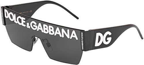 Dolce & Gabbana 0Dg2233 Occhiali da Sole, Multicolore (Black), 40 Uomo