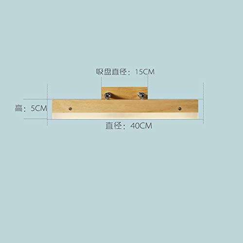 Japanse massief houten wandlamp creatieve slaapkamer nacht badkamerspiegel kast wandlamp spiegel schijnwerper -40 cm
