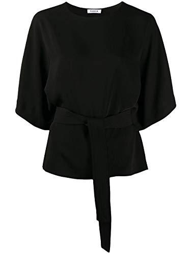 Luxury Fashion   P.a.r.o.s.h. Dames PANTERSD311221013 Zwart Polyester Blouses   Lente-zomer 20