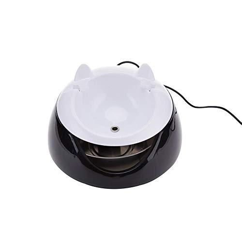 likeitwell Fuente de Agua Potable para Gatos, tazón de Agua eléctrico automático,...