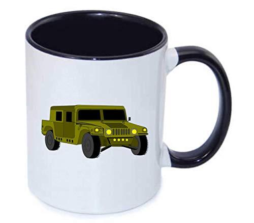 Druckerlebnis24 Tasse - Fahrzeug Auto Hummer Liebe - Kaffee-Tasse 330ml - Unisize aus Keramik - Tee