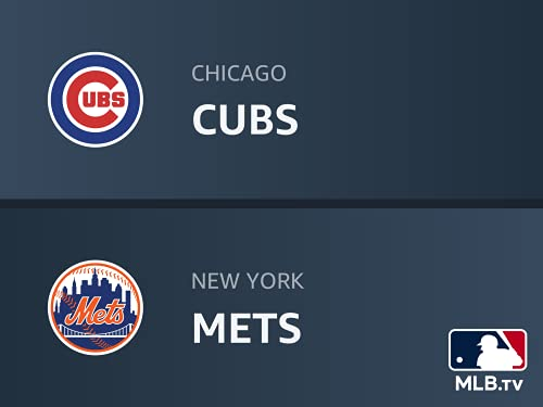 Chicago Cubs at New York Mets